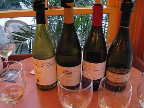 chardonnay options at Mixx