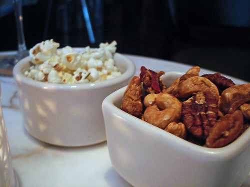 Rosemary Popcorn and Glazed Nuts