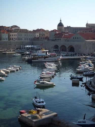 puerto antiguo de Dubrovnik