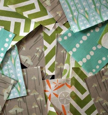 Etsy Fabric on Domino!