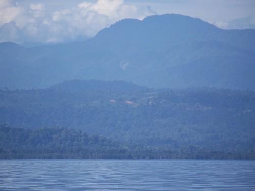 Vista de la Cuenca Alta del R�o Changuinola, Parque Internacional La Amistad