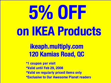 IKEA Philippines Discount Coupon