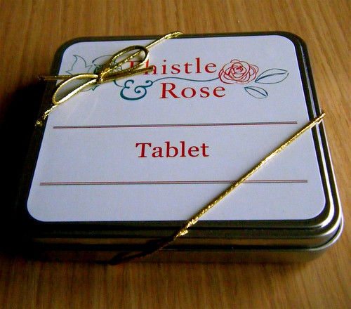 Thistle and Rose Tablet