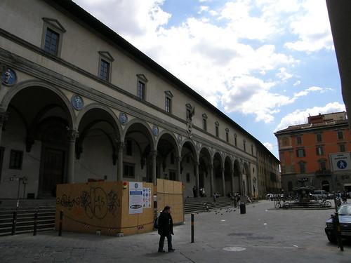 Firenze, piazza della Santissima Annunziata