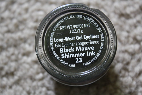 Bobbi Brown Long-Wear Gel Eyeliner Black Mauve