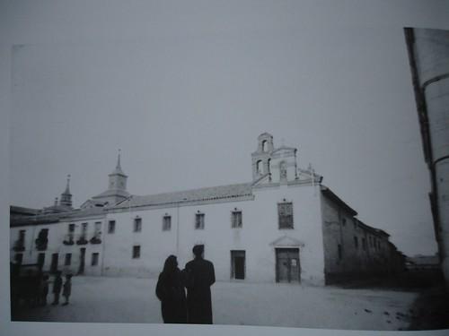 Convento clarisas de San Diego en 1952 (Santos Yubero)