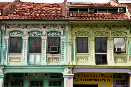Some SHophouses in Geylang