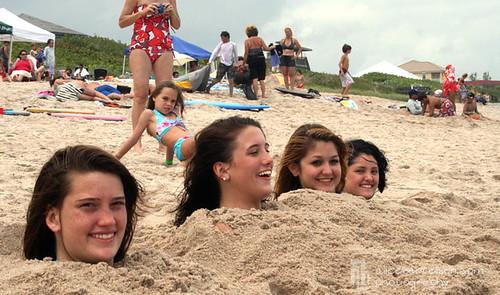 4 Buried Beauties