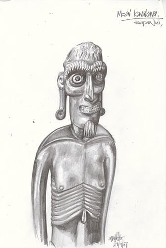 rapa nui moai kavakava easter island carving art polynesian