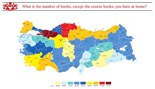 Turkey reading culture map how many books turkish people read and the number of books except textbooks at home turkey gumiabroncs Gallery