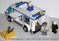 Review: LEGO CITY 7286 Prisoner Transport   Mostly Bricks