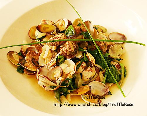 「吃飯」白酒蛤蜊和香茅圓鱈 @ 松露玫瑰 :: 痞客邦