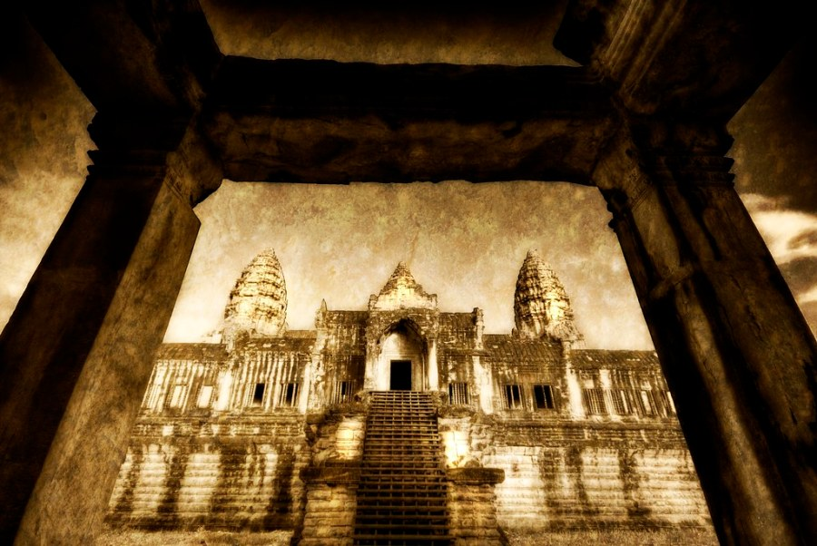 The Back Entrance to Angkor Wat