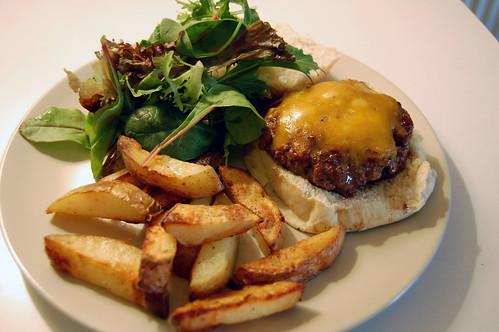 Homemade Hamburger, with Cheese