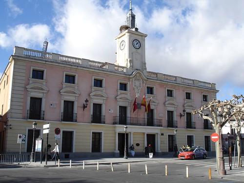 El ayuntamiento de Alcalá en la actualidad