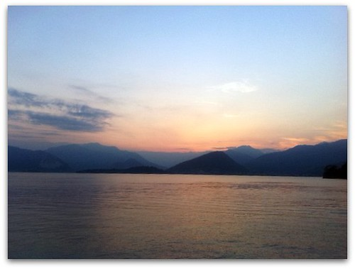 Sunset on Lake Maggiore