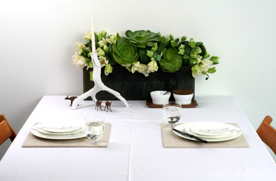 Centerpiece Ideas {via CHOW}