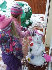 Making Snow Queen