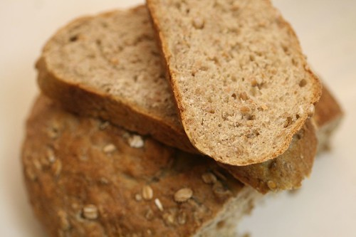 Slices of Honey Multigrain Bread