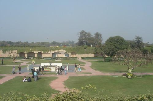 Raj Ghat甘地紀念碑1-13