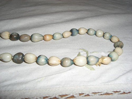 Necklace of beads from Jamaica