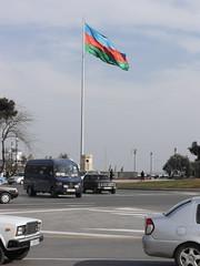 Giant Flag of Azerbaidjan
