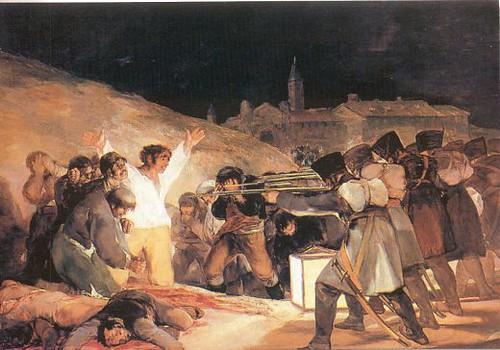 Los Fusilamientos del 3 de mayo de Goya