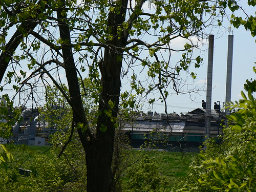 View of the Steel Mill from the Trail