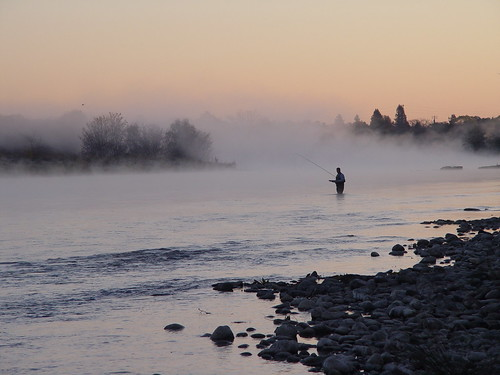 Fly-fishing photo