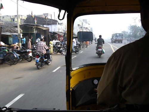 Autorickshaw ride