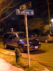 The Intersection of 36th and Troll