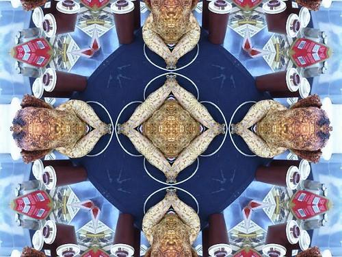 Beer Can Chicken Kaleidoscope