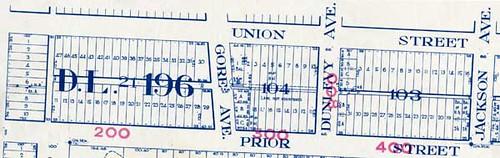 Hogan's Alley map (1939)