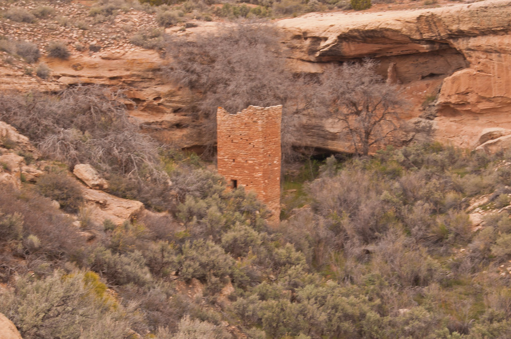 The Square Tower at Hovenweep