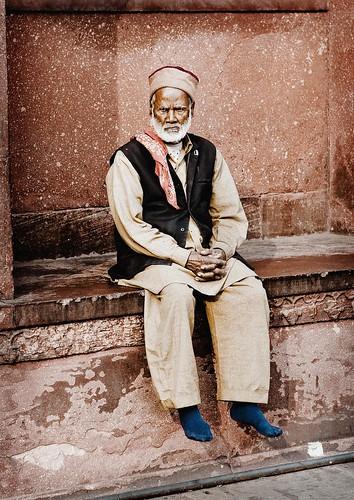 Man of Jama Masjid