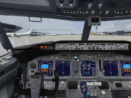 Panel Boeing 737NG en FSX
