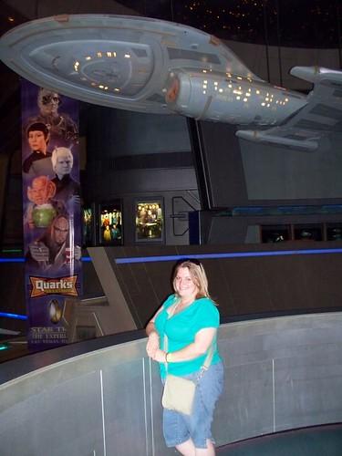 Erin beneath the Voyager