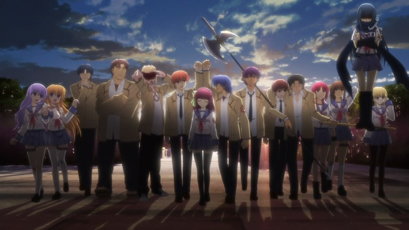 Angel Beats! OP ED - 16