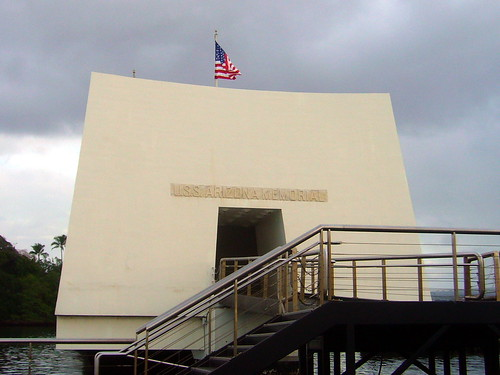 View from the Ferry of the memorial