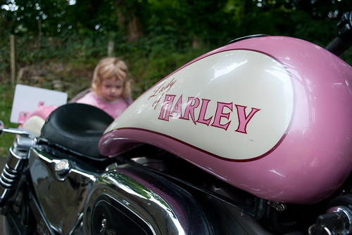 2/365 Lady of Harley by nualacharlie