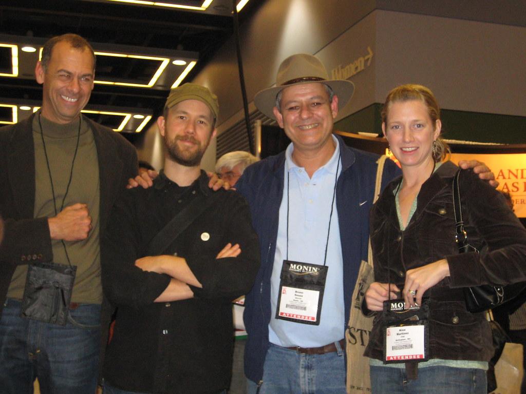 Andrew, Tony, Bruno and Nina