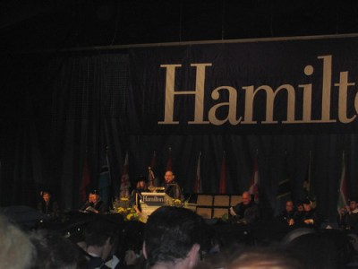 Calling Commencement to Order