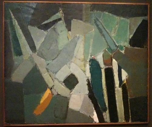 "Nicholas de Staël, ""Rue de Gauguet"" (1949)"