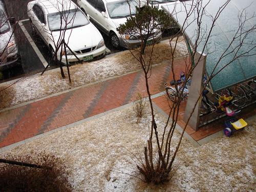 Schneeregen