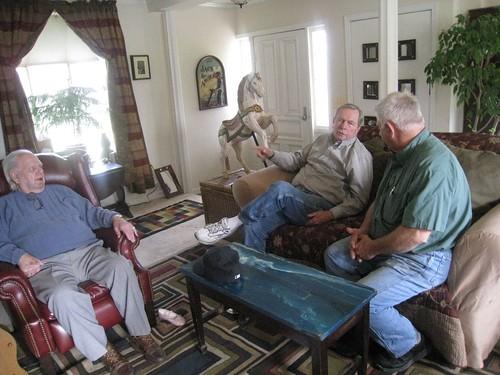 Mr. G, George, and Van