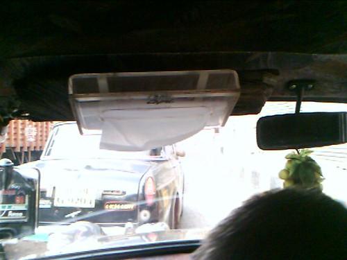 last mile idea: tissue box in cab