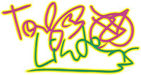 Fun with my autograph after vectorizing it (small)