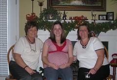 Three Generations - Mrs. Joyce, Kelly, and Mrs. Becky
