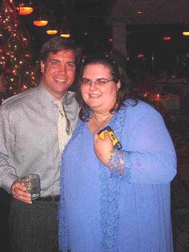 Charlie and Jess Christmas 2003