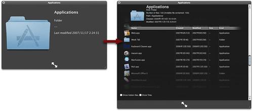 Folder List Quick Look plug-in